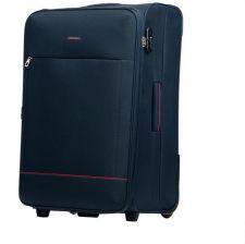 4102bc81614f9 Średnia walizka PUCCINI EM-50408 Verona granatowa - granatowy