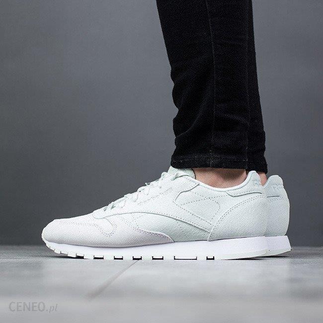 a33b05be Buty damskie sneakersy Reebok Classic Leather Nbk BS9861 - ZIELONY -  zdjęcie 1