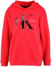 Calvin Klein Jeans HOWARA TRUE ICON HOODY Bluza z kapturem tango red Ceny i opinie Ceneo.pl