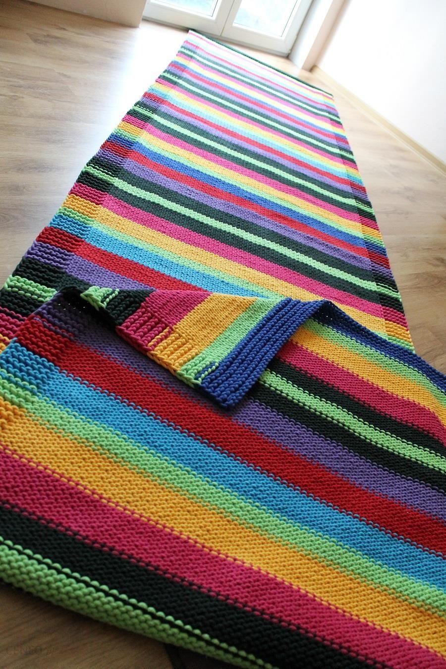Dywan Ręcznie Robiony Z Bawełnianego Sznurka Kolorowy Duży Opinie I Atrakcyjne Ceny Na Ceneopl