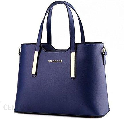 2e2cf6acc4019 ... Torebka damska - niebieski -. Amazon Kobiety skóra PU torby z uchwytem  torba na ramię torby torba do ręki torba na