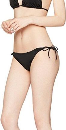 Amazon Iris & Lilly Damen Bikinihose Tie-Side Triangle Schwarz Medium