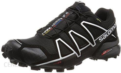 Amazon Buty do biegania w terenie Salomon Speedcross 4 GTX dla mężczyzn, kolor: czarny, rozmiar: 44 EU Ceneo.pl