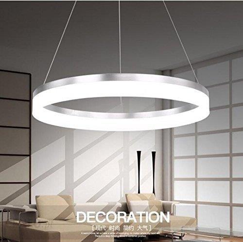 Amazon Lampa wisząca LED aokarlia nowoczesny styl życia mutil pierścienie oświetlenie, kreatywne lampy sufitowe, oświetlenie wiszące do sypialni i jad
