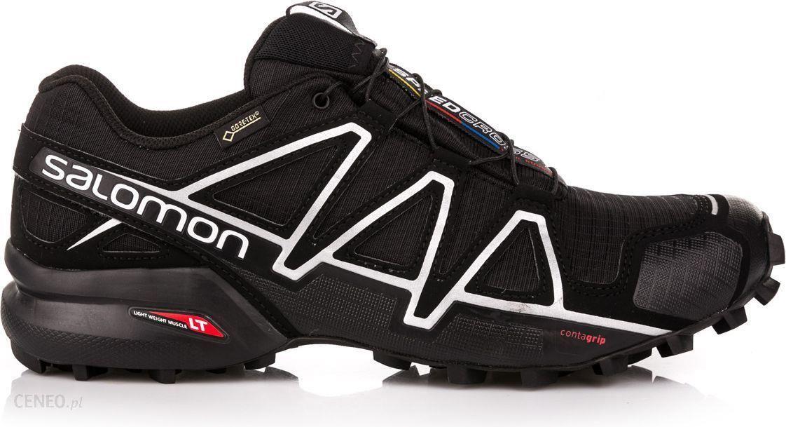 Buty Trekkingowe Salomon Buty Meskie Speedcross 4 Gtx Black Black R 42 2 3 383181 Ceny I Opinie Ceneo Pl