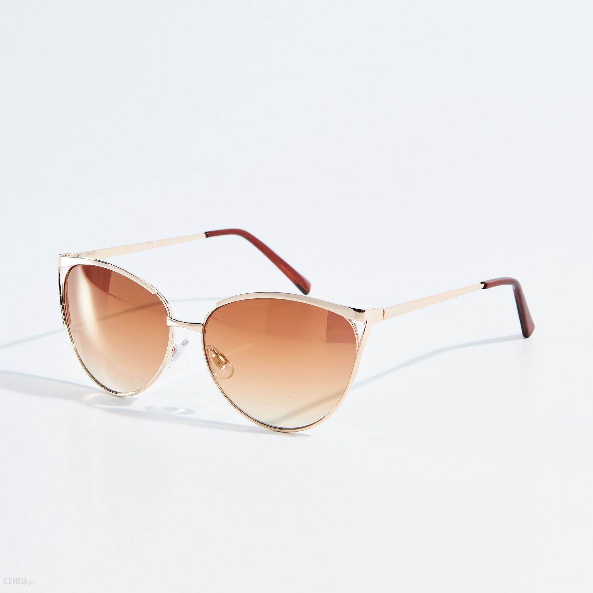 Mohito Okulary przeciwsłoneczne Złoty Ceny i opinie