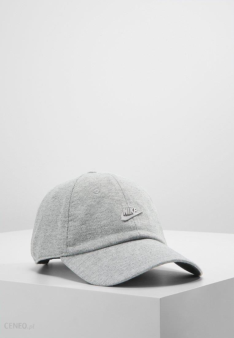 Nike Sportswear Czapka z daszkiem dark grey heatherblackmatte silver Ceny i opinie Ceneo.pl