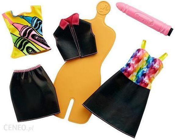 6d61d108d Barbie Crayola Zrób To Sama Akwarelowe Wzory Ii (Fhw85 Fhw86) - zdjęcie 1
