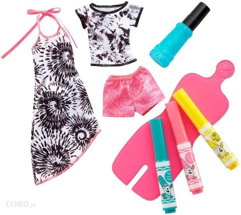72c554a26 Barbie Crayola Zrób To Sama Stylowe Szablony Ii (Fpw12 Fpw13) - zdjęcie 1