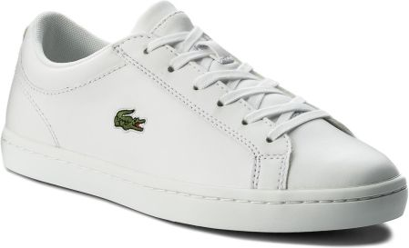 f272d8d8f2524 Sneakersy LACOSTE - Straightset Bl 1 Spw 7-32SPW0133001 Wht eobuwie