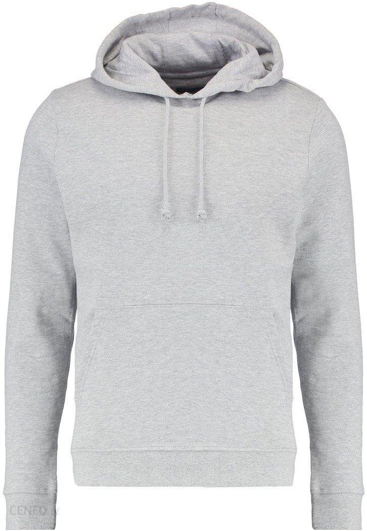 Brave Soul CLARENCEE Bluza z kapturem light grey