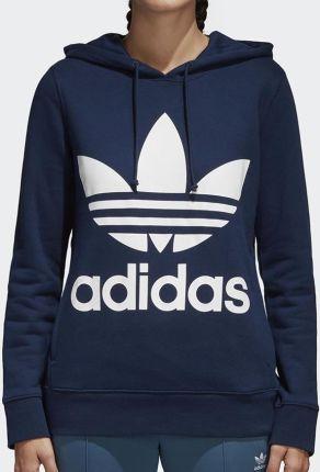 adidas Originals ADICOLOR TREFOIL HOODY Bluza z kapturem