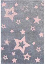 Livone Dywan Z Gwiazdkami Love Rugs Starlight 160X230Cm SzaryRóżowy