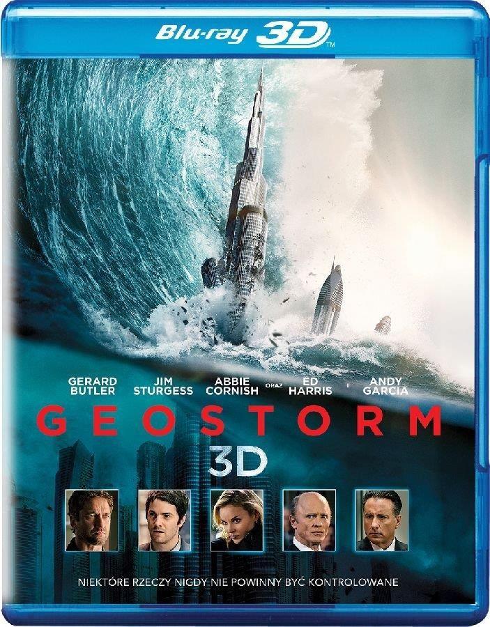 Geostorm 3D DVD