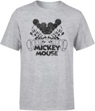 Disney Mickey Mouse Mirrored T-Shirt - Grey - M - Grey
