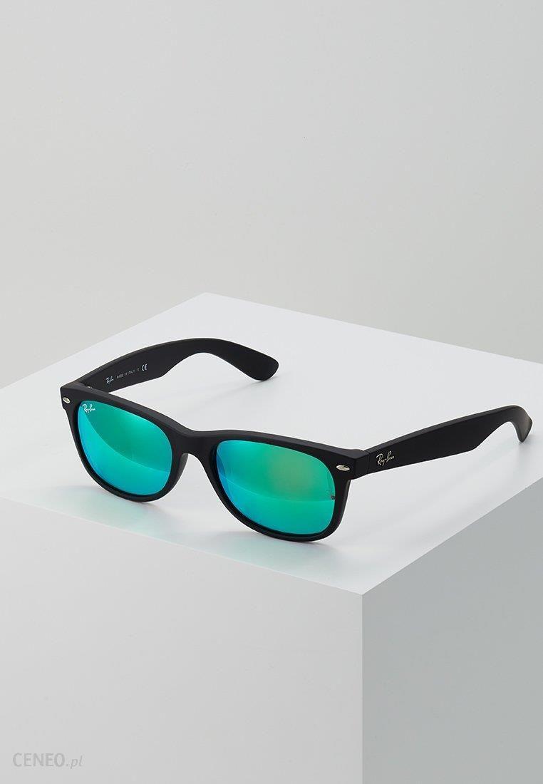 a1d0f7d3d93 RayBan NEW WAYFARER Okulary przeciwsłoneczne black grey mirror green -  zdjęcie 1