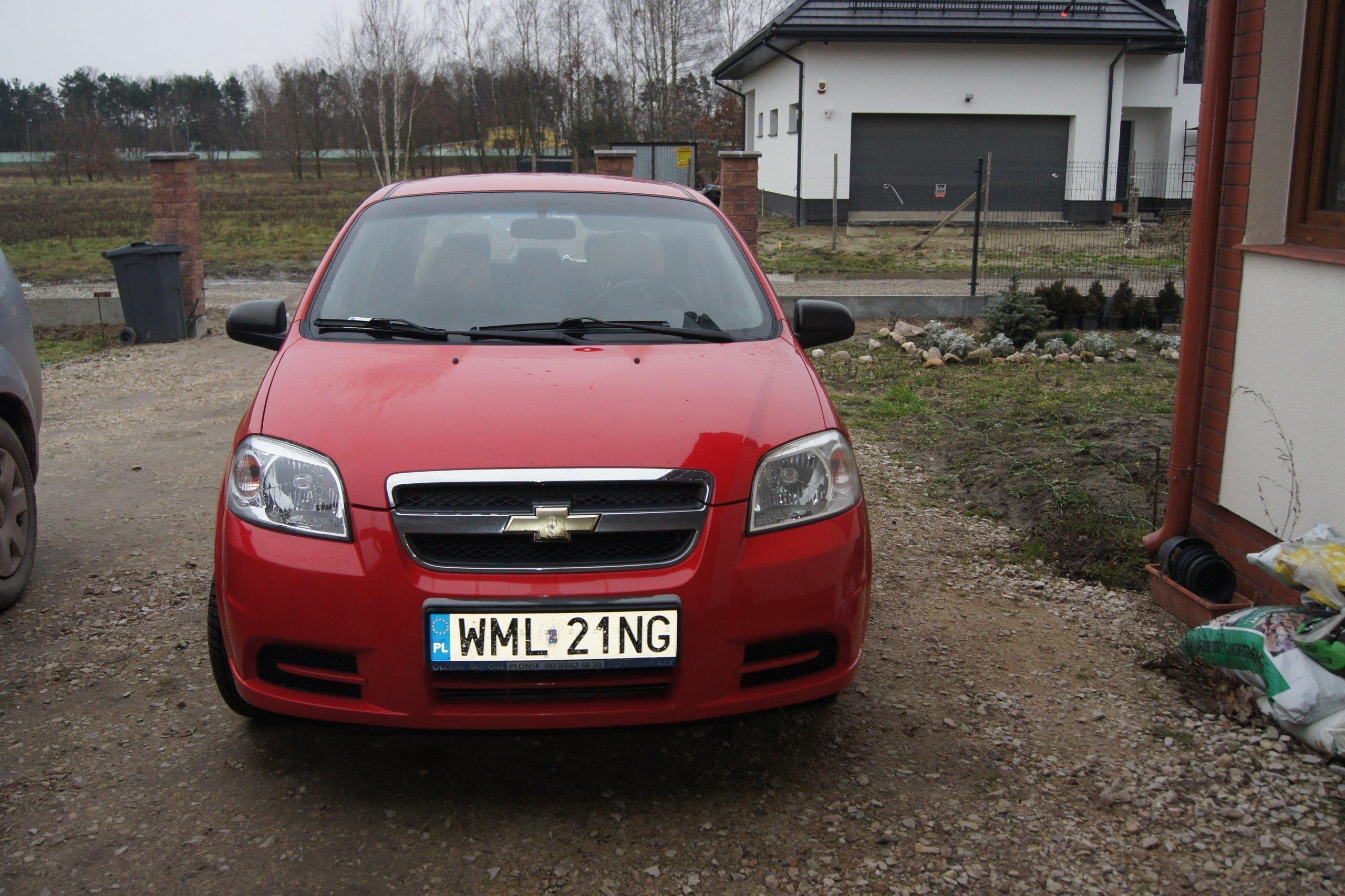 Chevrolet Aveo 2007 Benzyna 53km Sedan Czerwony Opinie I Ceny Na