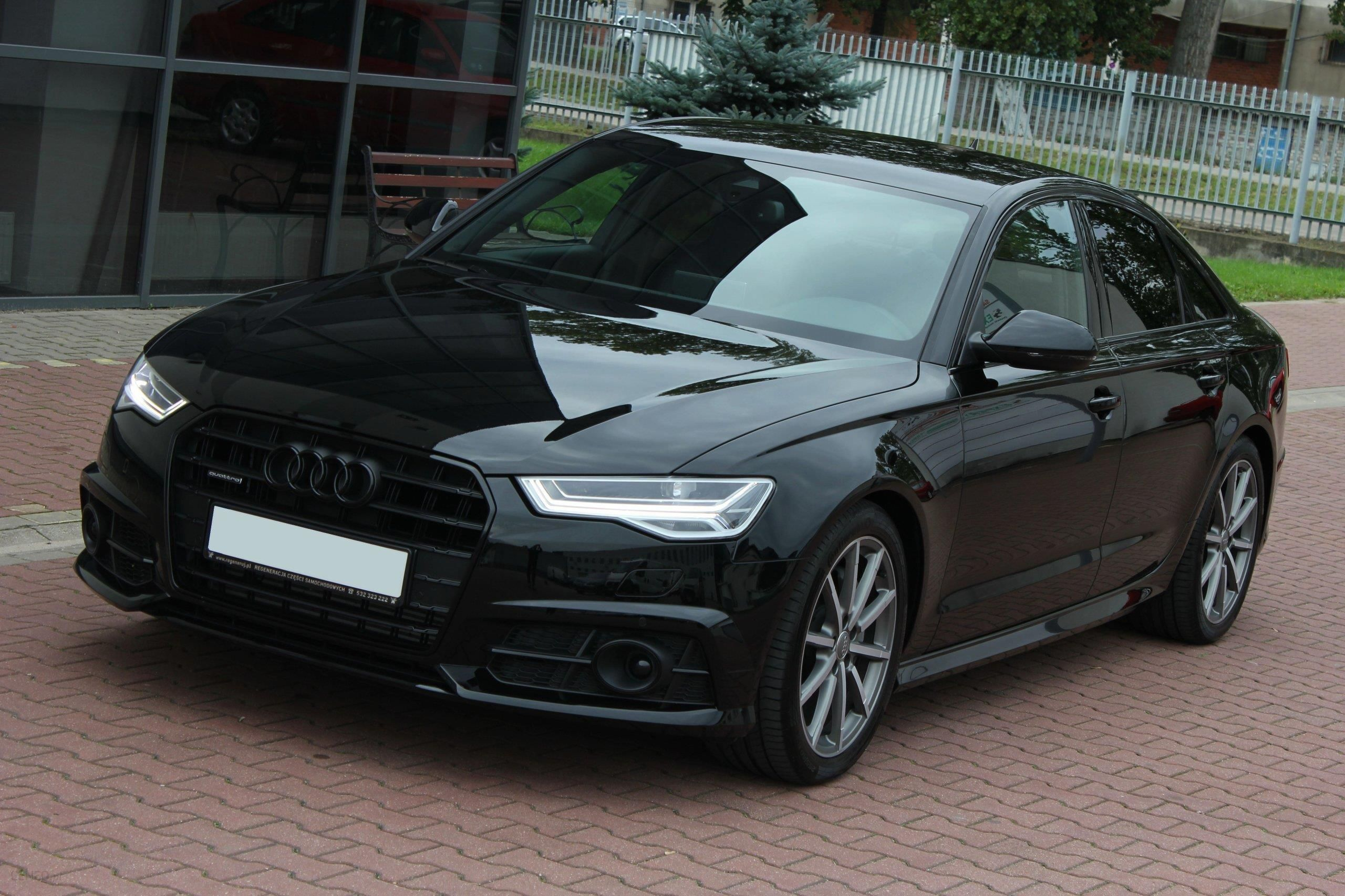 audi a6 c7 2017 benzyna 252km sedan czarny opinie i ceny. Black Bedroom Furniture Sets. Home Design Ideas