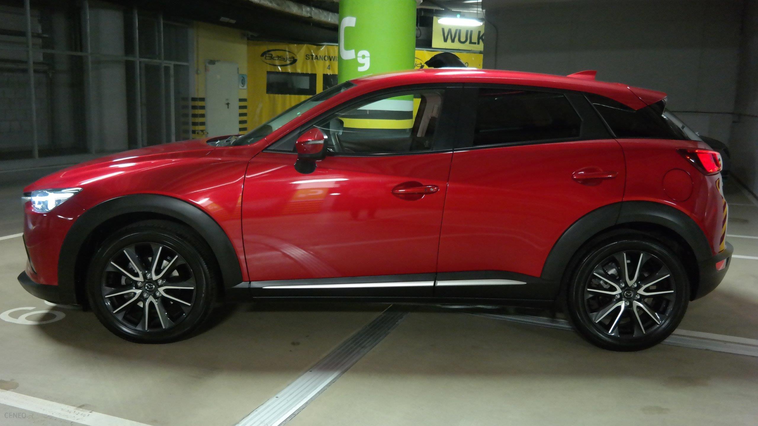 Mazda Cx 3 2017 Benzyna 120km Suv Czerwony Opinie I Ceny Na Ceneo Pl