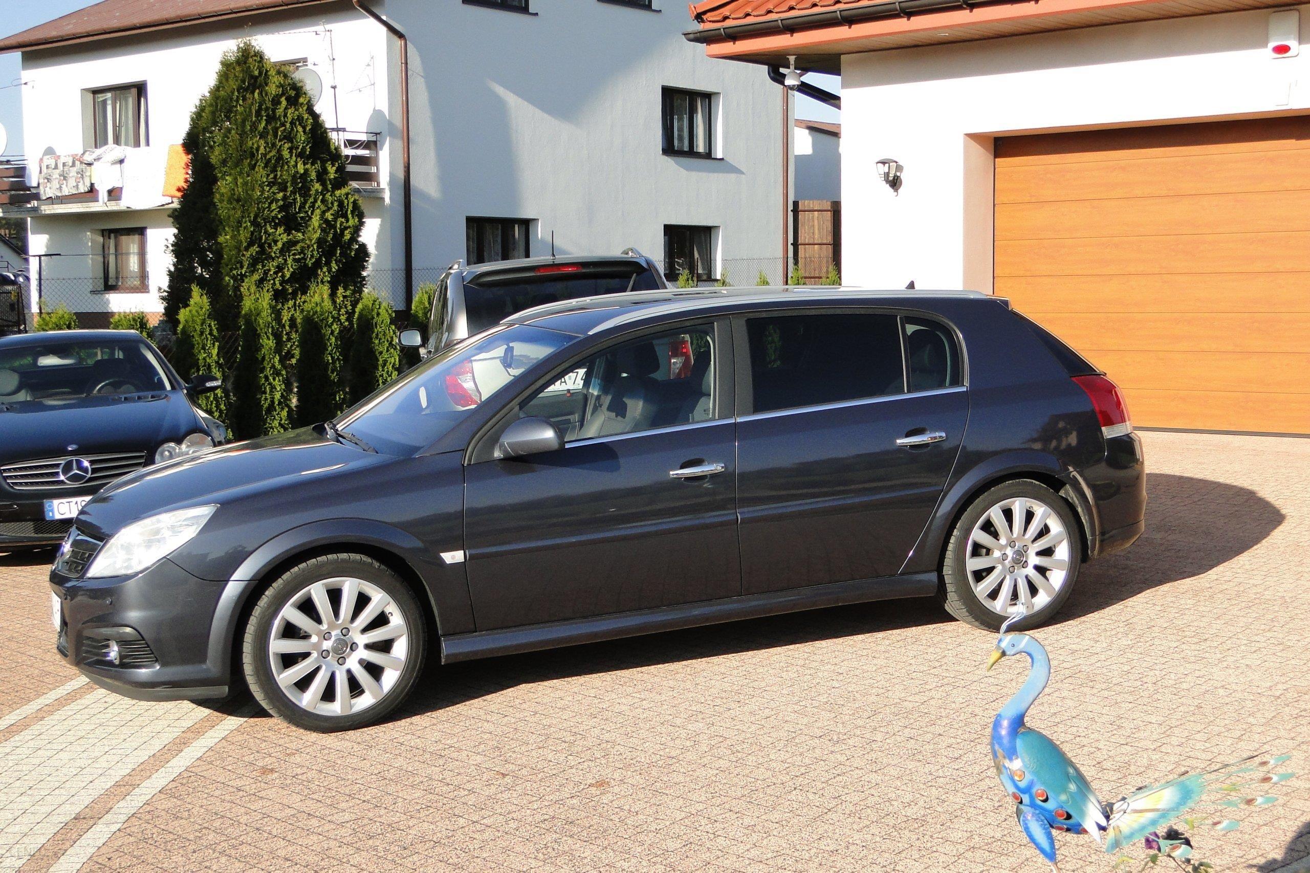 Chłodny Opel Signum 2006 diesel 150KM hatchback szary - Opinie i ceny na EU24