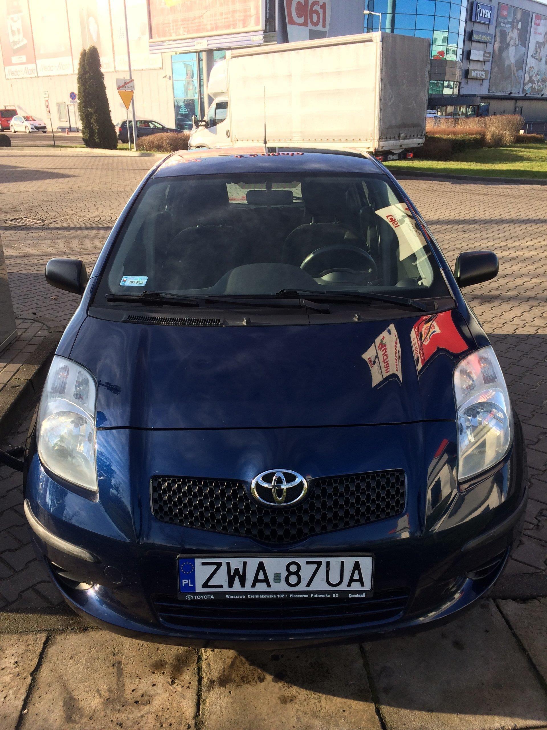 Toyota Yaris Ii 2006 Benzyna 87km Niebieski Opinie I Ceny Na Ceneopl