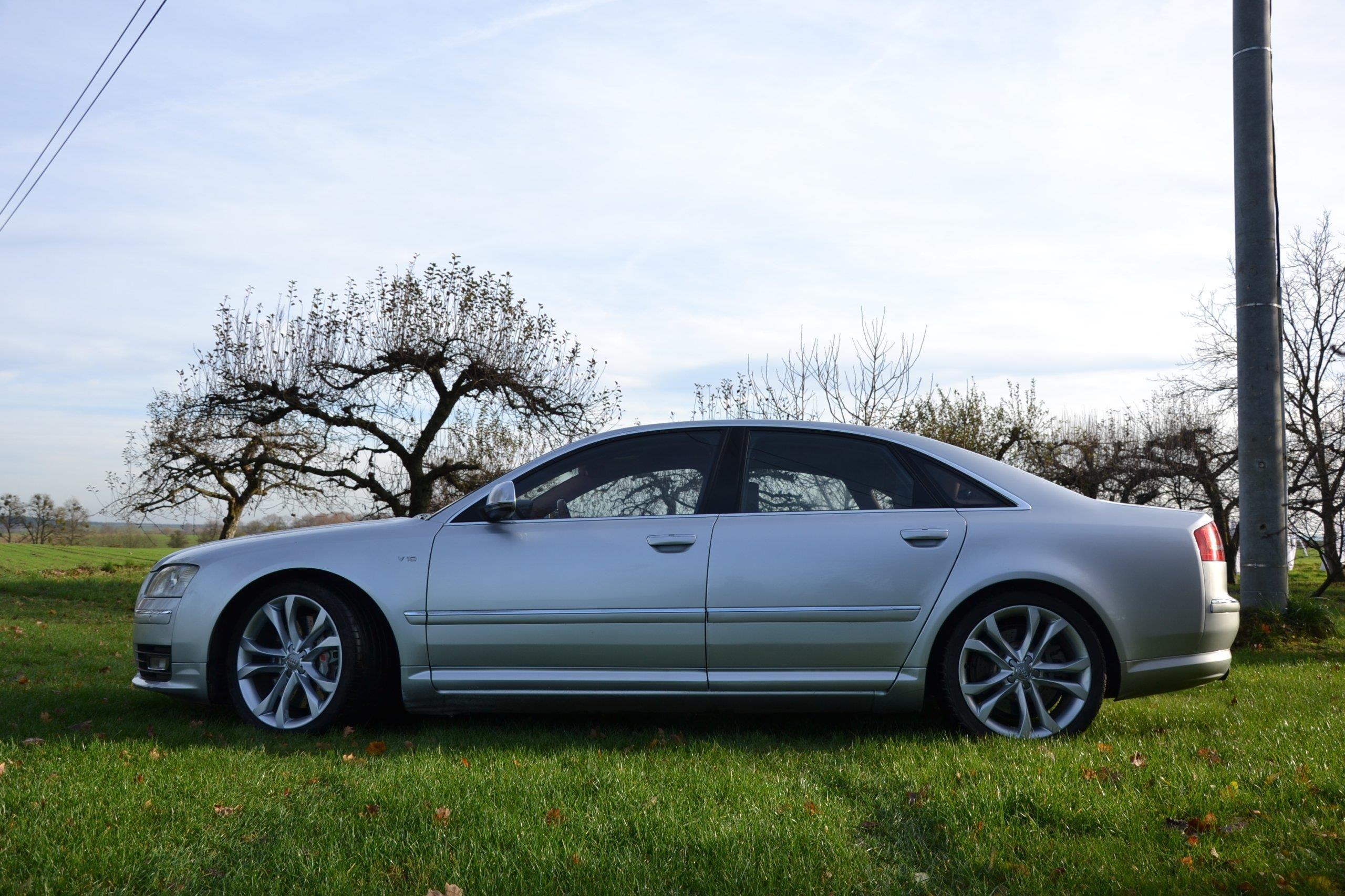 Audi S8 D3 2008 benzyna 450KM srebrny - Opinie i ceny na ...