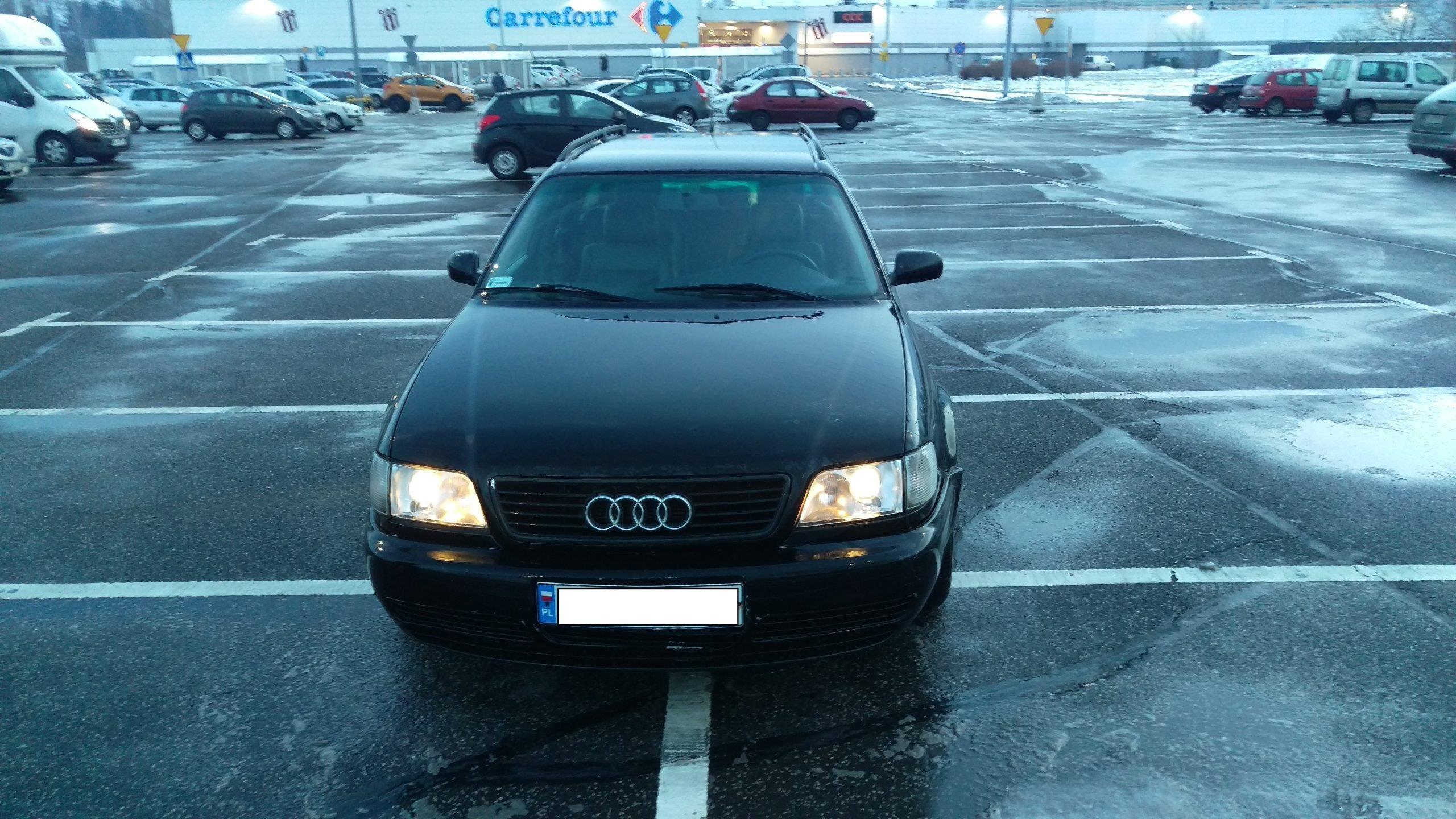 Audi S6 C4 1997 benzyna + LPG 290KM kombi czarny - Opinie i ceny na Ceneo.pl