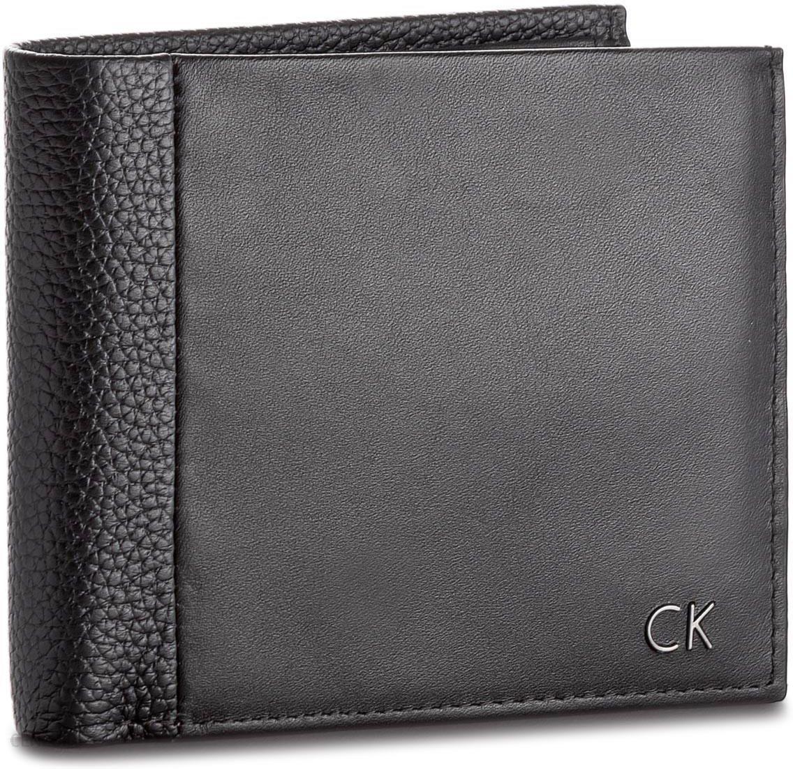 05617c1c0f1b5 Duży Portfel Męski CALVIN KLEIN BLACK LABEL - New Nathan 10CC+Coin  K50K503558 001 -