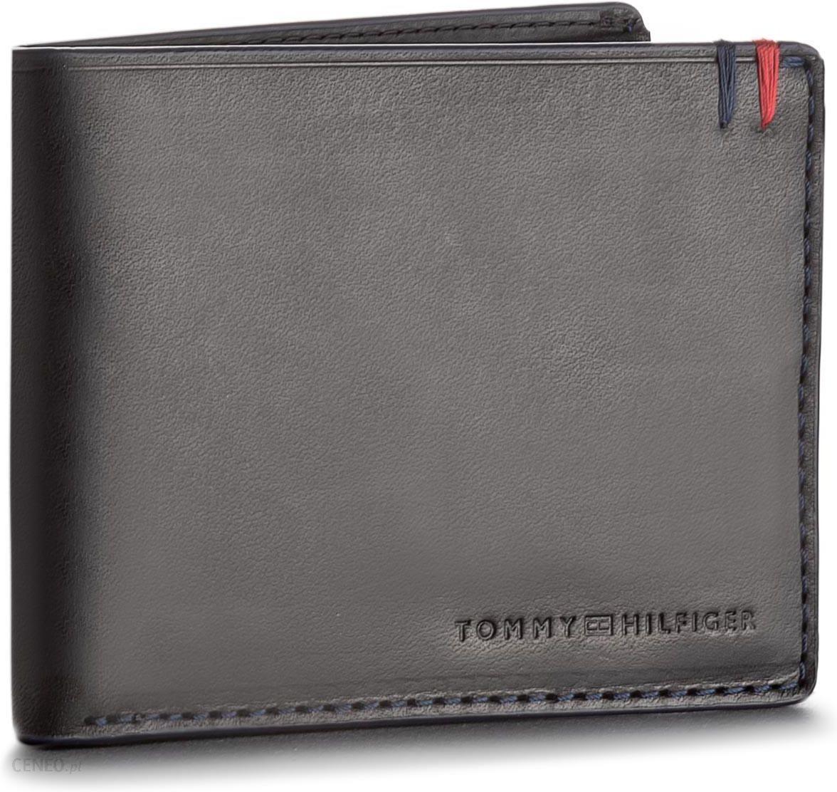 691136e4c2a86 Duży Portfel Męski TOMMY HILFIGER - Burnished Mini Cc Wallet AM0AM03059 002  - zdjęcie 1