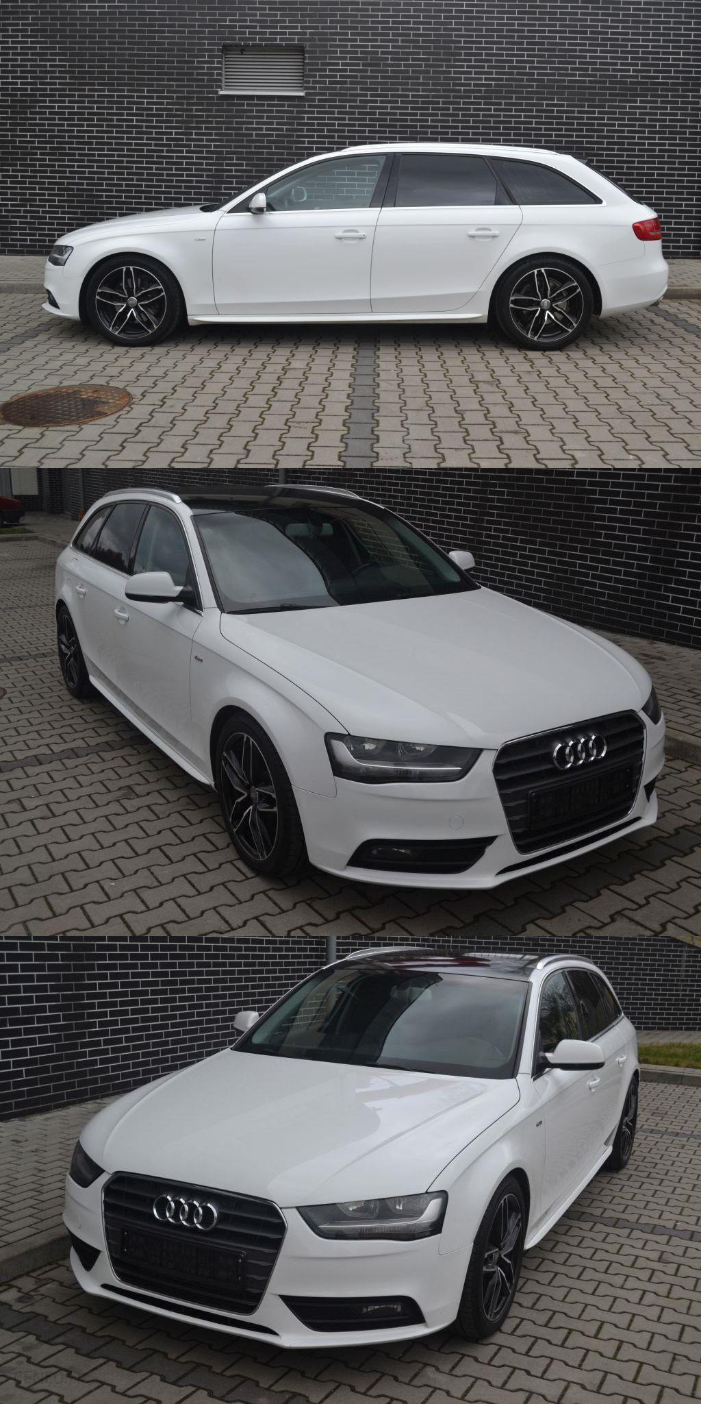 Audi A4 B8 2012 Diesel 204km Kombi Biały Opinie I Ceny Na Ceneopl