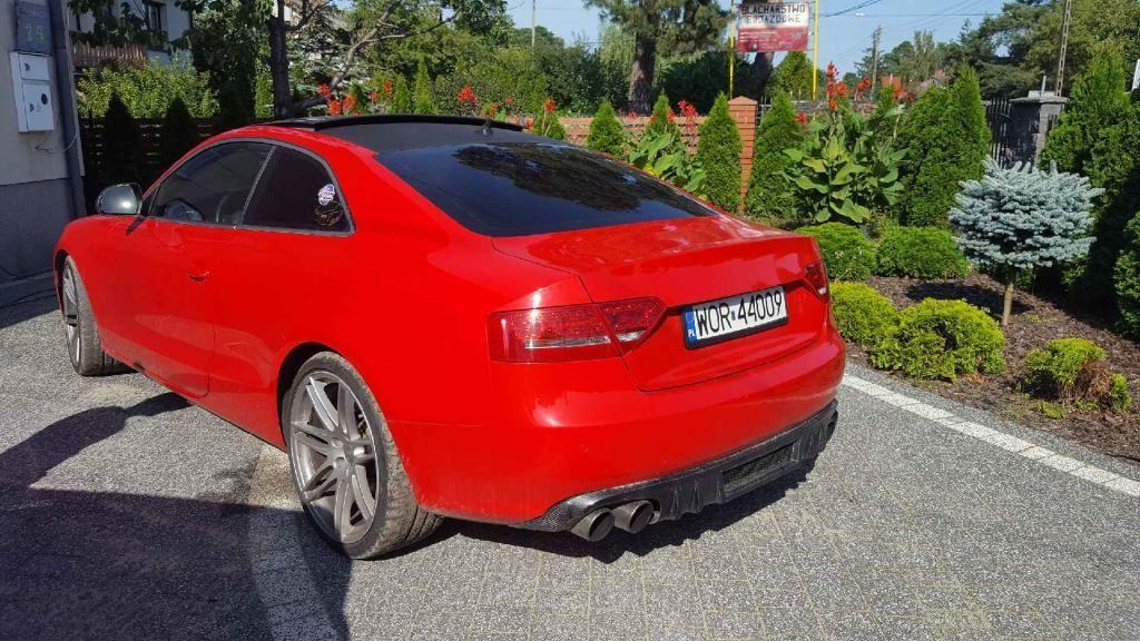Niesamowite Audi A5 8T 2008 benzyna 300KM czerwony - Opinie i ceny na Ceneo.pl MC35