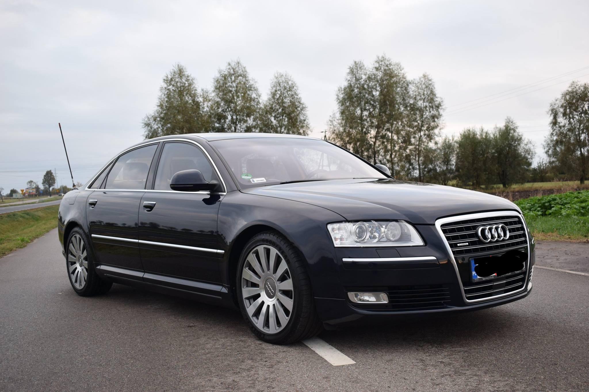 Audi A8 D3 2008 diesel 326KM sedan inny - Opinie i ceny na ...