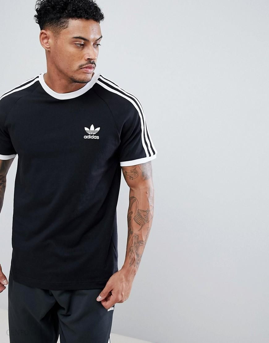 adidas Originals adicolor California T Shirt In Black CW1202 Black