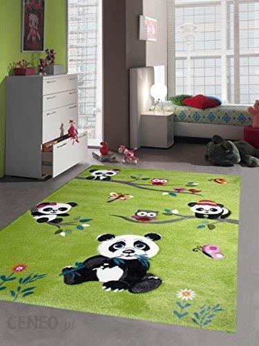 Amazon Dywan Dywan Dla Dzieci Do Zabawy Dywan Do Pokoju Dziecięcego Urocze Kolorowe Zwierząt Z Cięcia Konturów Panda Wzór Z Sowami Ptaków Motyle I Zi