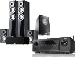 Denon AVR-X1400H + Canton Chrono 507.2 + SP206 + SP506 + AS 84.2SC czarny