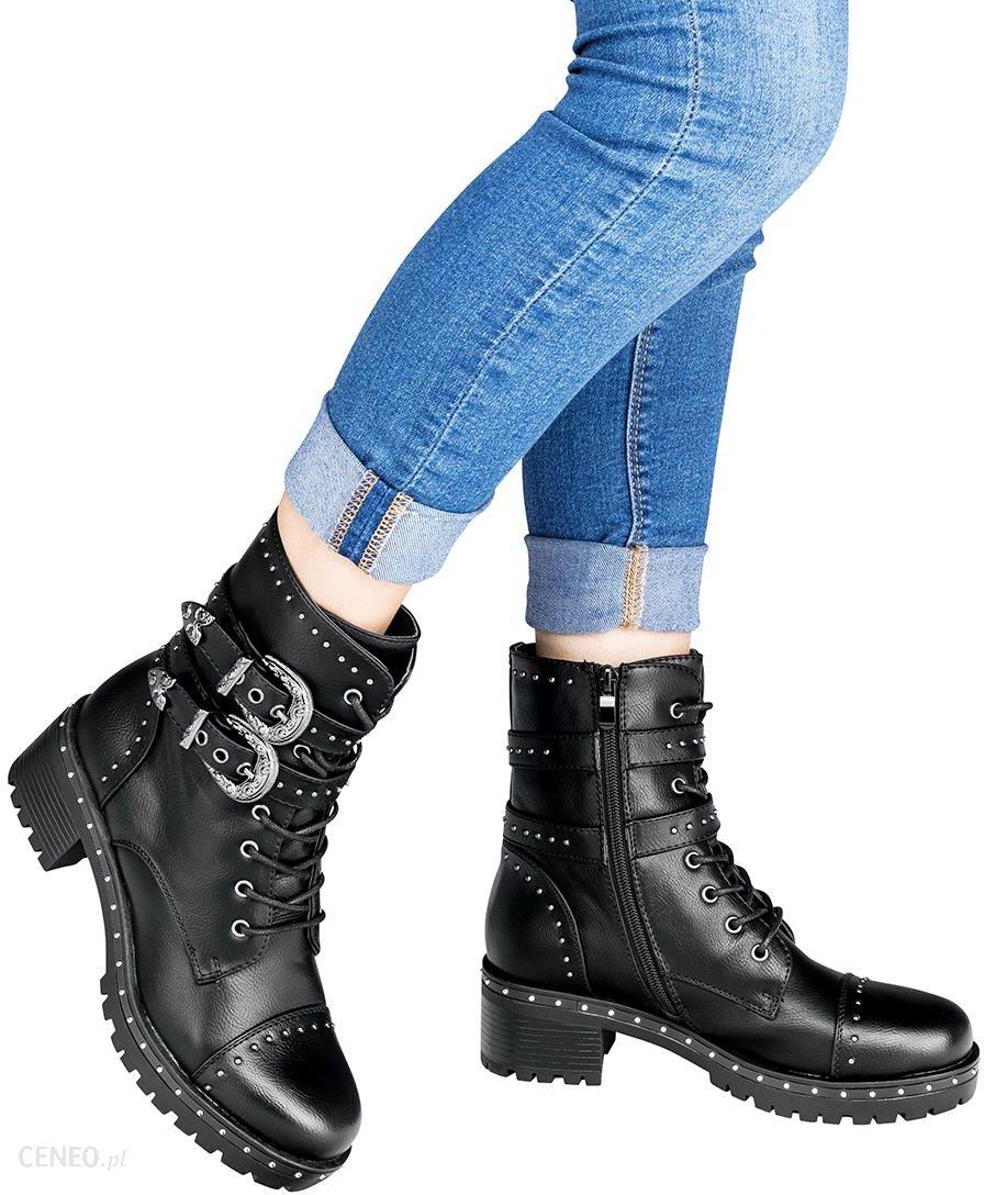 Sneakersy CLAUDIO ROSSETTI 107 czarne , Wysokie, Botki na