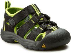 a253ca15 Sandały KEEN - Newport H2 1009922 Black/Lime Green eobuwie