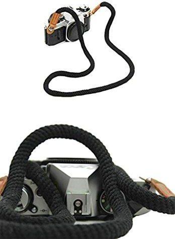 Fantastyczny Amazon Uniwersalny Vintage pasek do aparatu ręcznie wykonane RI71