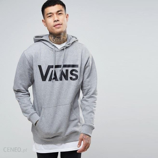 bluza szara hoodie vans