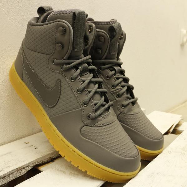 Buty zimowe męskie Nike Court Borought Mid Winter (AA0547 700)