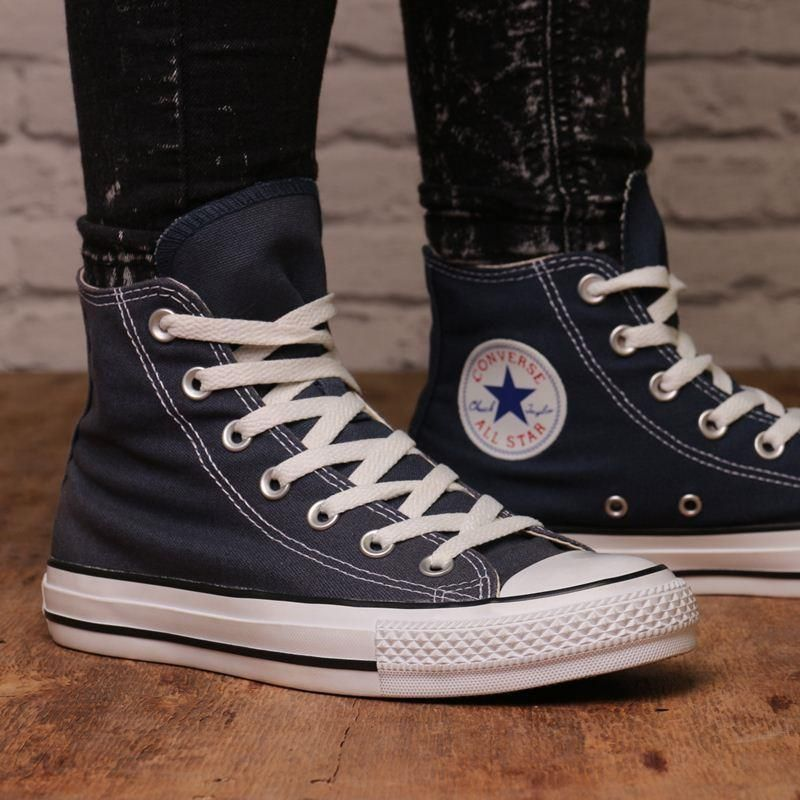 Buty Converse CHUCK TAYLOR AS CORE M9622 Trampki i tenisówki damskie niebieskie w Spartoo