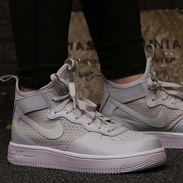 best sneakers e85a8 83f7e BUTY NIKE AIR FORCE 1 ULTRAFORCE MID GS 869945 002 - zdjęcie 1
