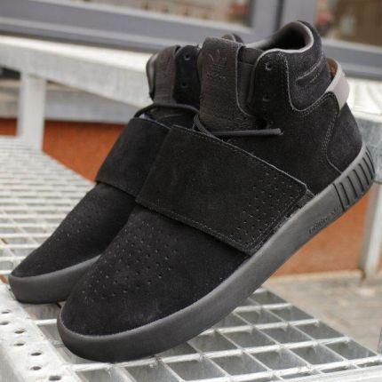 2211093dc4e Buty damskie sneakersy Puma Platform Kiss Suede 366461 01 - CZARNY ...