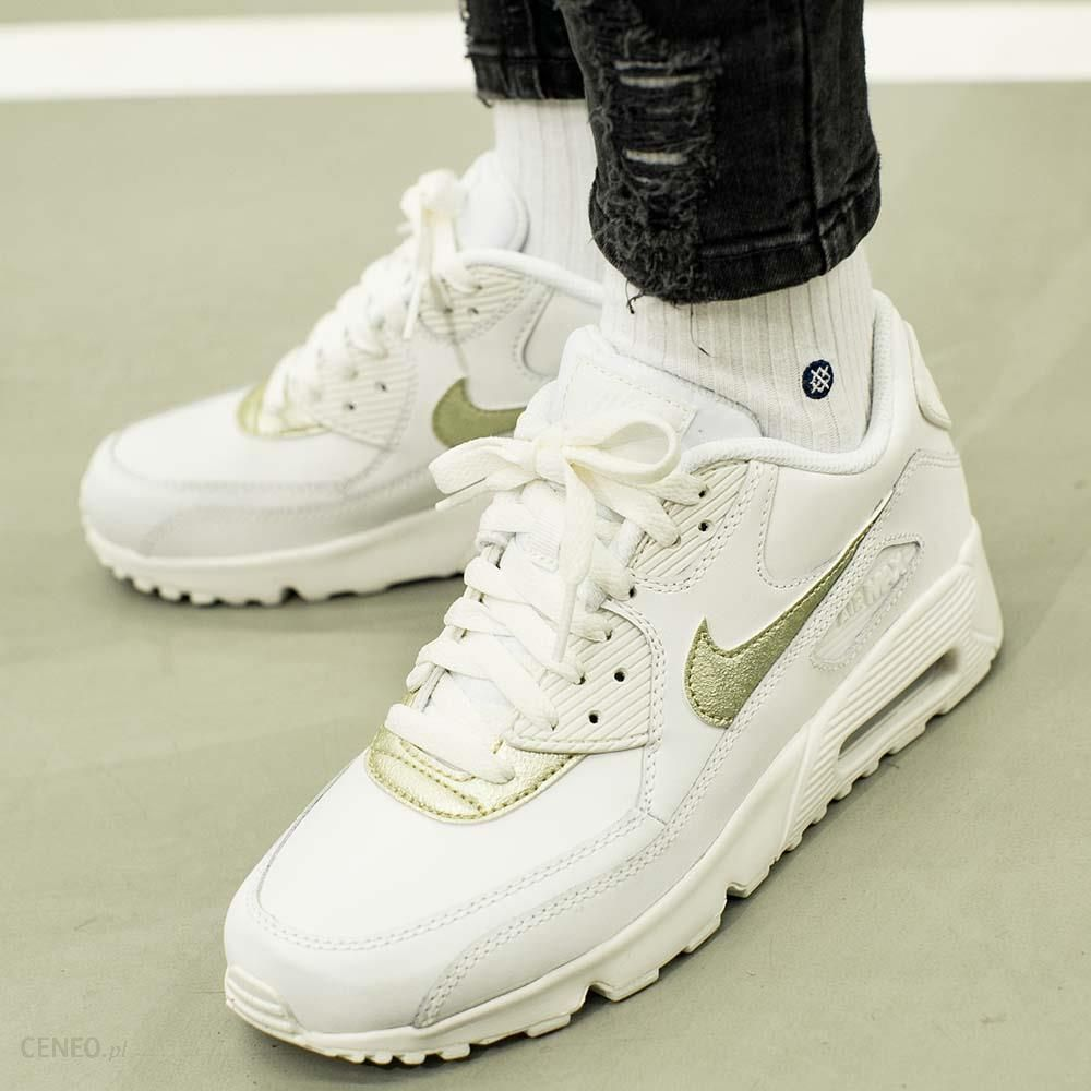 Nike Air Max 90 Leather GS 833376 103 Ceny i opinie Ceneo.pl