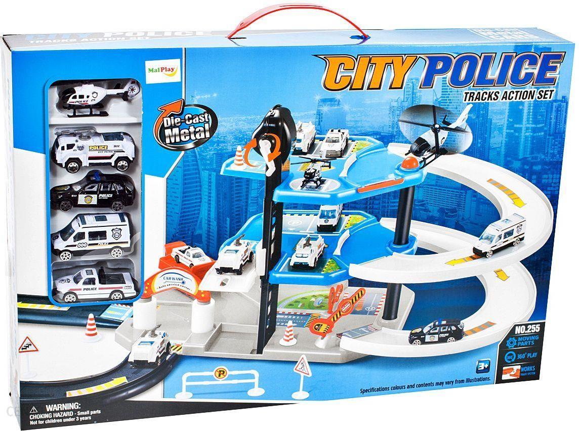Malplay Parking Policyjny Z Autami I Helikopterem 105867 Wrocław
