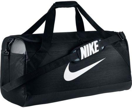 cb3b73d93dd7a Nike Torba sportowa Brasilia 6 Medium 62 - czarny - Ceny i opinie ...