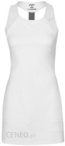 af9a6d81c0aae5 Asics Sukienka Athlete Dress real white 1464790001 - Ceny i opinie ...