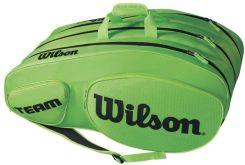 8ea4f292e33e4 Wilson Torba Team III 12 Pack Bag green black WRZ854812