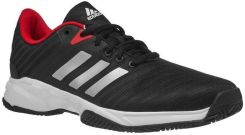 cacc3137f173 Adidas Buty Barricade Court 3 core black white scarlet CM7816