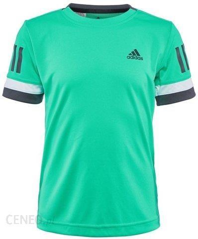 Adidas Koszulka chłopięca Club 3 Stripes Tee hi res green CV5891 Ceny i opinie Ceneo.pl